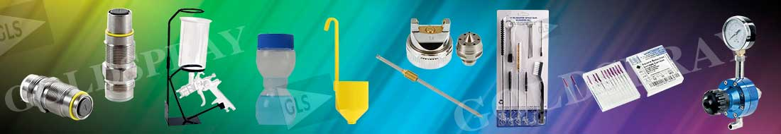 Accesories, spray guns cleaning set... Goldspray