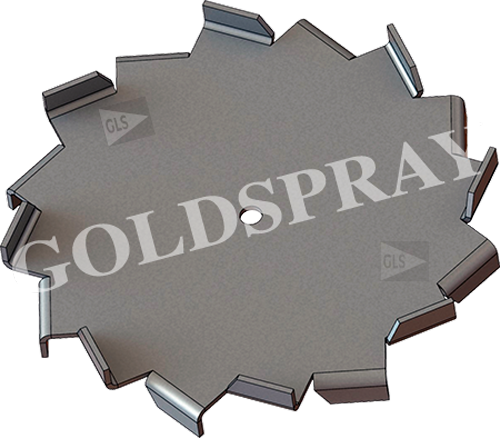 Disco Cowler Standar - GoldSpray