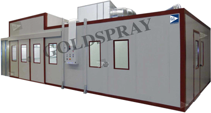 spray booth - GoldSpray