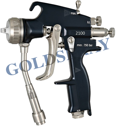 Pistola Manual Airmix Airless Optima UM2100 GLS - GoldSpray